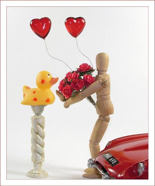 Ducky Valentine by cattyal