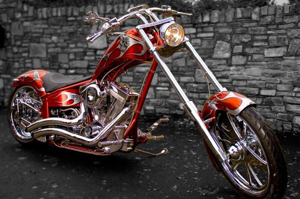 Custom Chopper by JEBUS