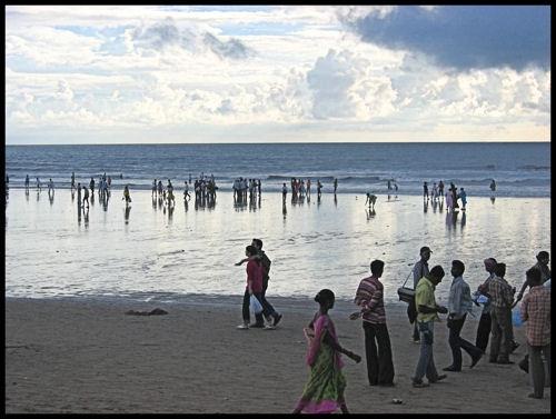 Juhu Beach Mumbai by mickp