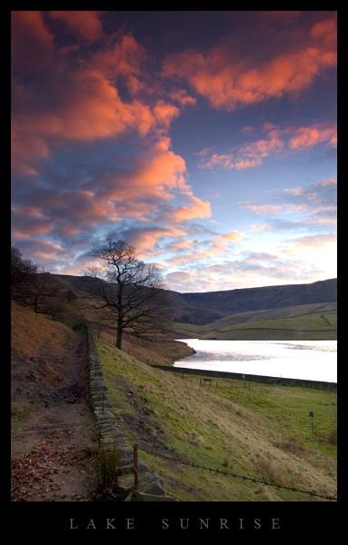Lake Sunrise by wamp