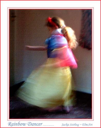 Rainbow Dancer by ElmsArt