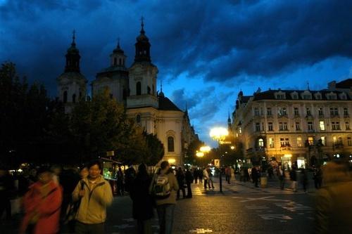 Prague By Night II by woolybill1