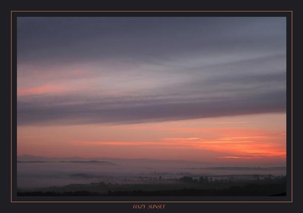 HAZY SUNSET by BillN