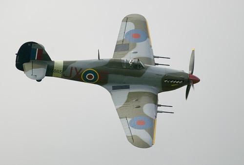 Memorial Flight Hurricane by StevenSmith