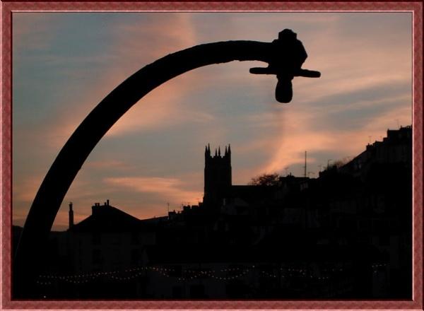Brixham Silhouette by ewartwilson