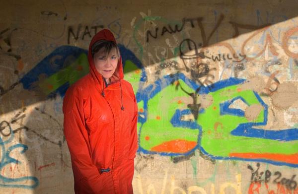 The Orange Kagoul by BillS