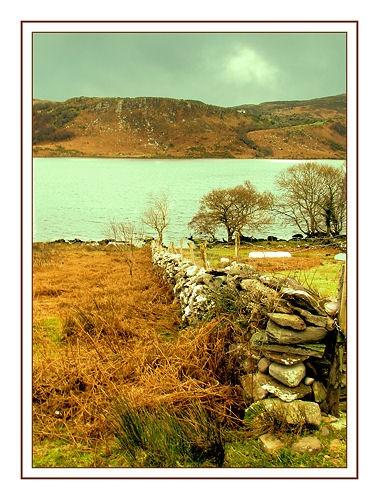 Carragh Lake Wall by Callanan
