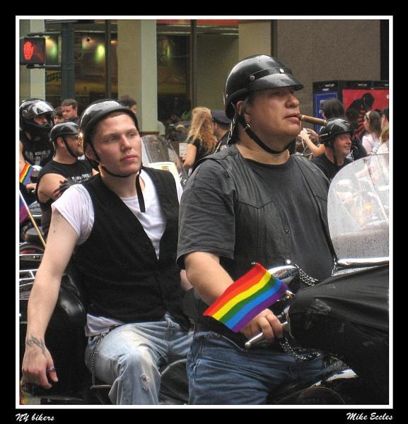 NY bikers by oldgreyheron