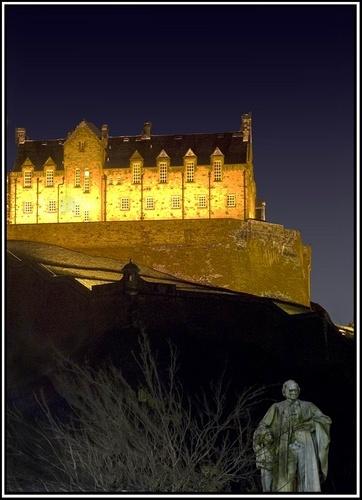 Edinburgh Castle by Kwosimodo