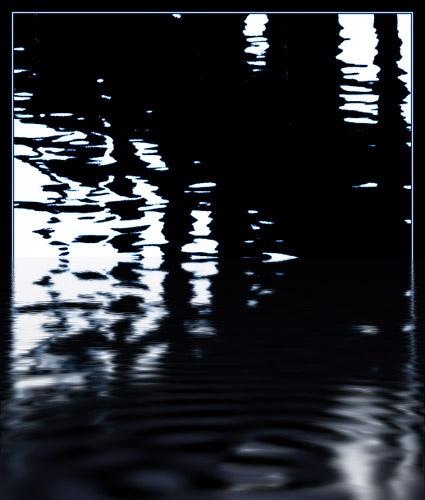 Reflecting on a pier by rhion