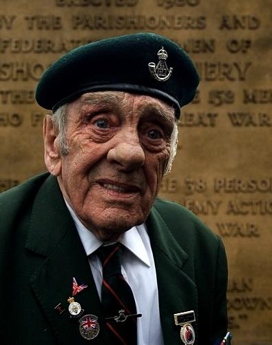 A Veteran Reflects by y-i-man