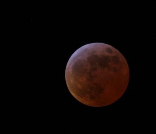 Moon tonight by cambirder