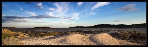 Shell Beach - Kippford by johnp