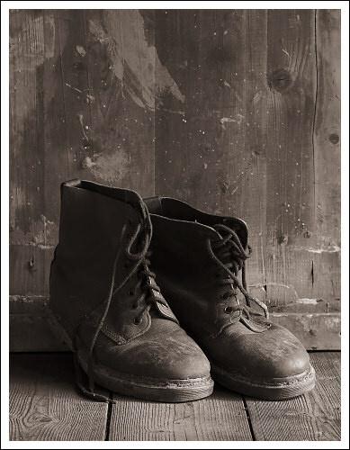 Old Doc Martens by JohnHorne
