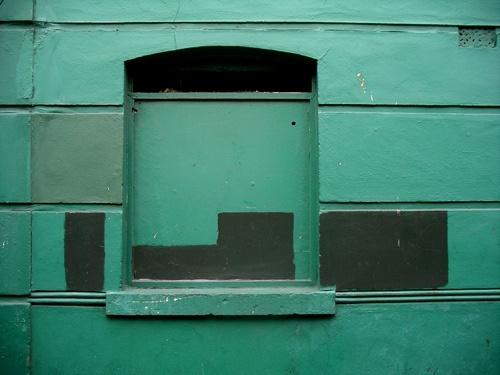 Green Window by kinkladze