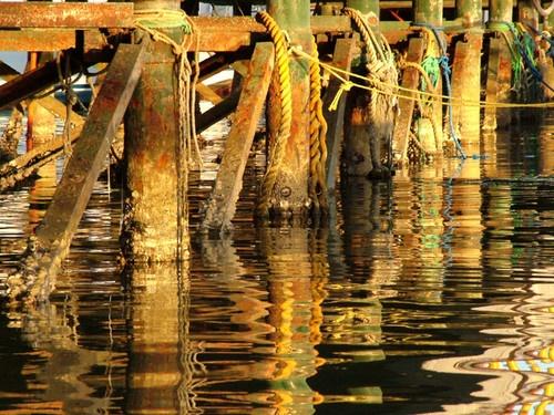 Under the pier by EmmaStu