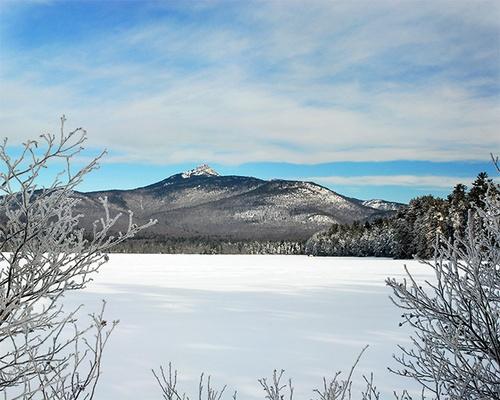 Mt Chocurua in the winter by gmontambault