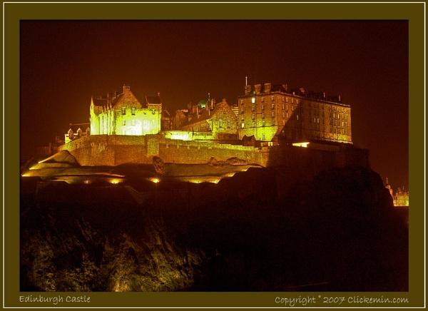 Edinbugh Castle by Farne
