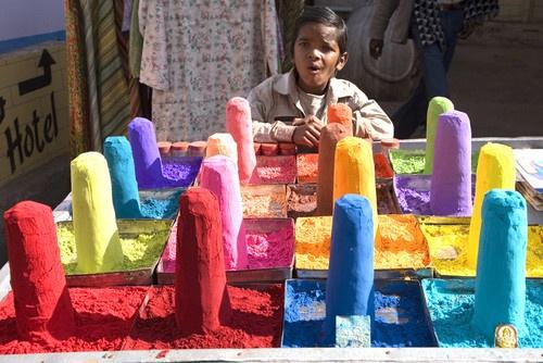 Tika Powders _ Pushkar by DirkV