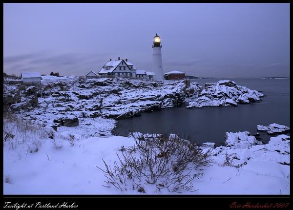 Twilight at Portland Harbor by Eric_Hendershot