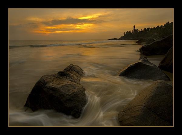 Kovalam Light, India by RobDougall