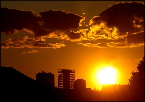 Brum Sunset by jskazza