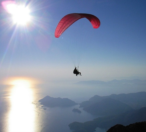 Paragliding by PDGILL