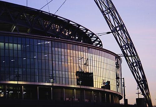 New Wembley at Dusk by Topcat
