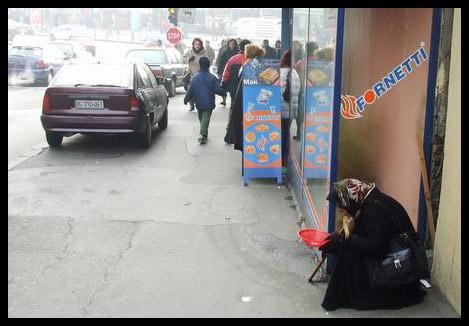 beggar woman by tupko