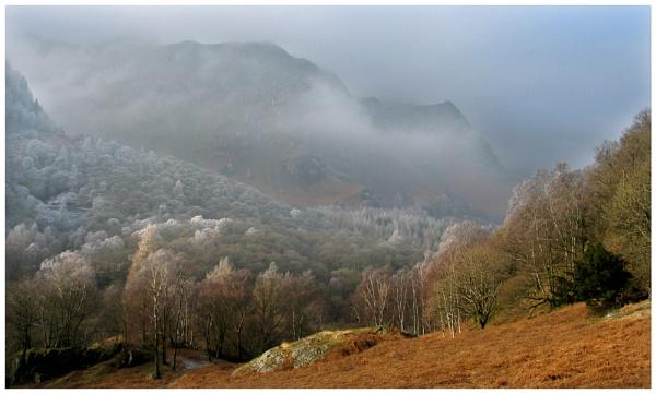 Hillside Mist by dven