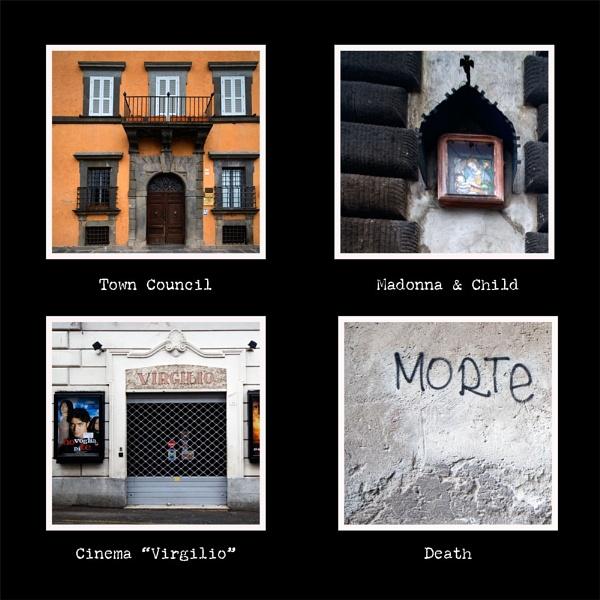 Bracciano - walls by Phoebecat