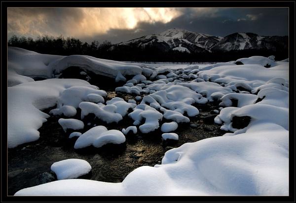 Hakuba River Scene II by Robsterios