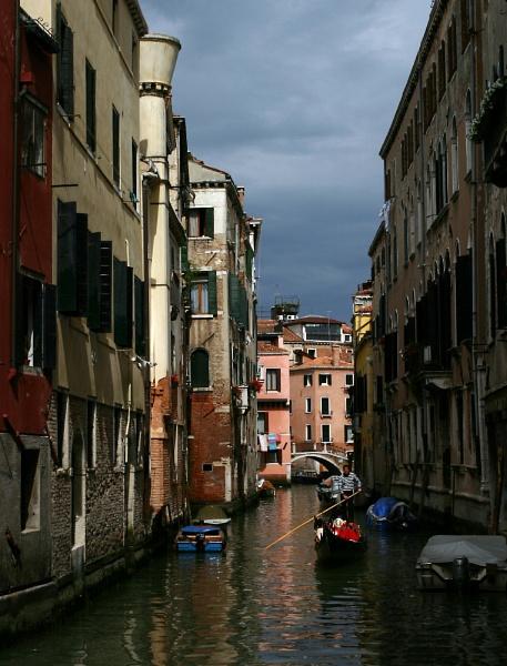 Venice canal by BertieP