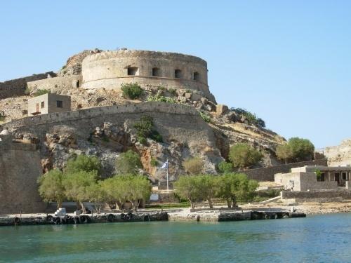 Venetian Fortress at Spinalonga by RosaB