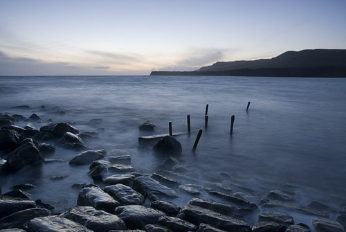 Evening at Kimmeridge by saw3