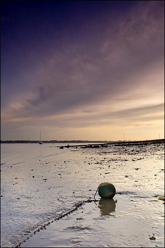 Lonely Buoy by brm