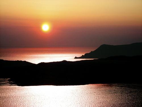 Santorini Sunset by Topcat