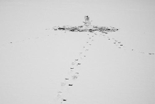 Snow man by kinkladze
