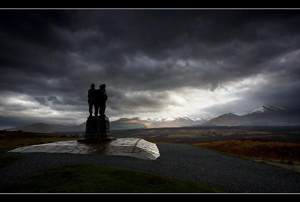 Commando Memorial by Nigel_95