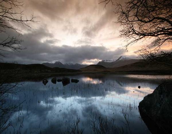 Glencoe Sunset by FeePhoto