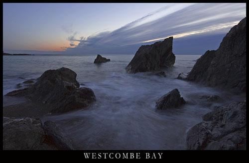 Westcombe Bay by shandyman