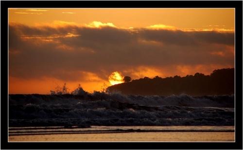 Raging Sky...Roaring Water by rohanps