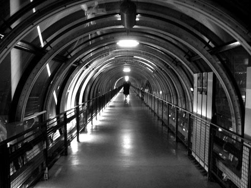 Lone Figure by marcbowker