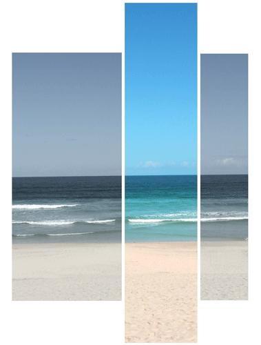 Beach by it happens
