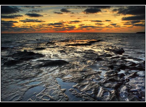 Ferry Sunset by TonyA