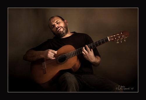 The Guitarist by Ruggieru