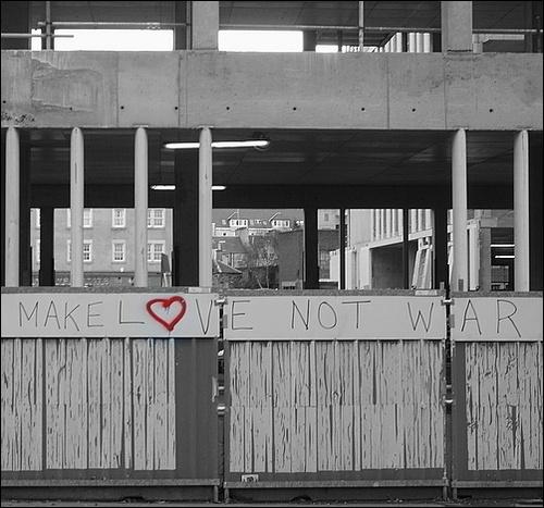 Make Love Not War by LauraBeans