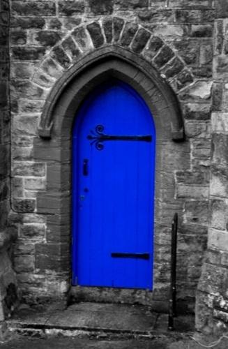 Blue Door by CornishEyes
