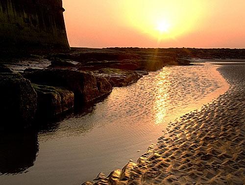 Perch Rock Sunset by MrsS