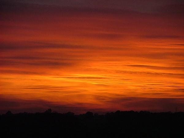Burning Sky by chazbo